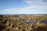 Omey Island view of nearby islands