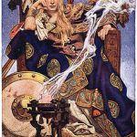 Queen Maev by J. C. Leyendecker