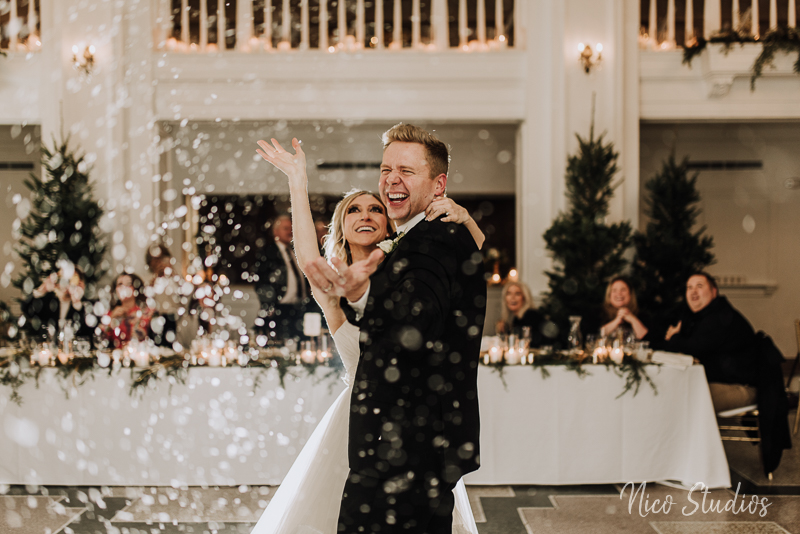 Winter LaSalle Wedding