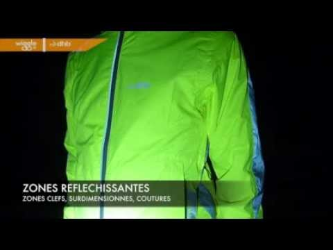 Test de la veste cycliste dhb Hi Viz Waterproof.