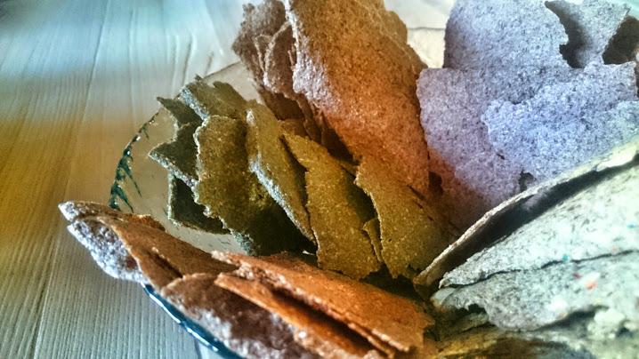 Crackers bio de graines de lin