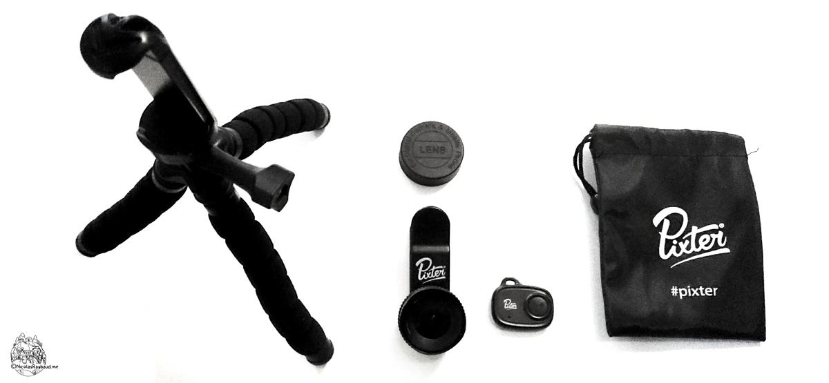 lentille grand angle pro pour smartphone de la marque pixter