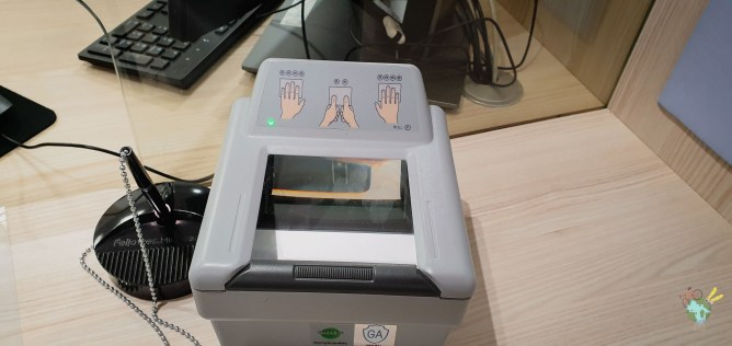 empreintes digitales pour visa chine