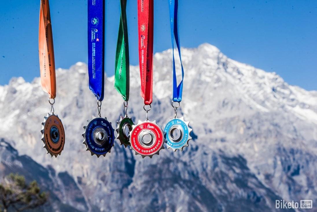 medal yunnan granfondo montagne dragon jade lijiang biketo