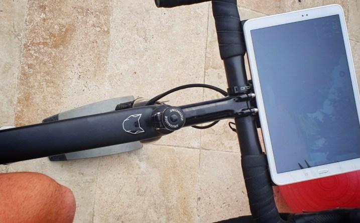 Kinomap application tablette home Trainer
