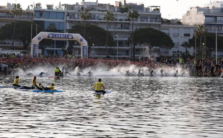 Cannes International Triathlon Natation Moveup Photography