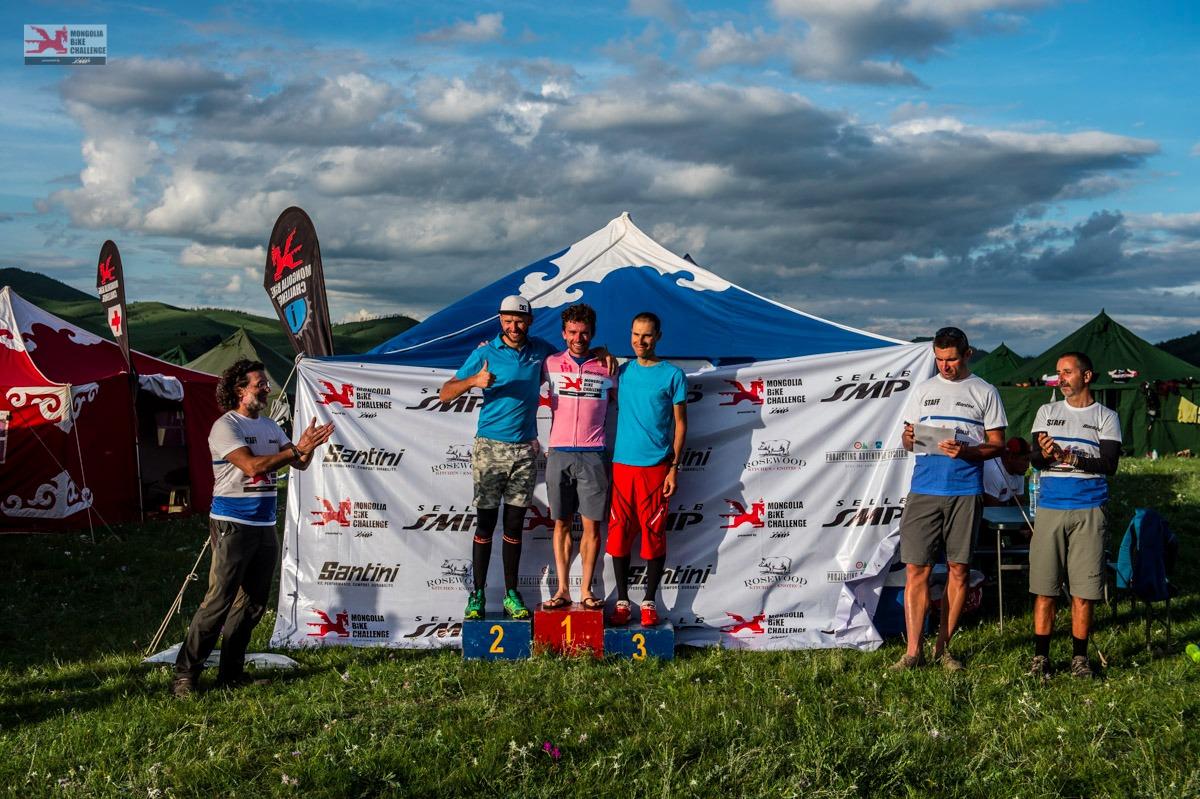 Podium Mongolia Bike Challenge
