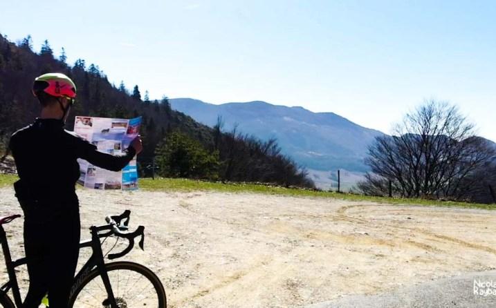 carte cyclo VTT du vercors