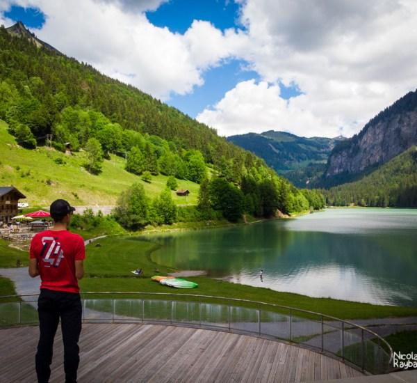 lac de montriond à morzine