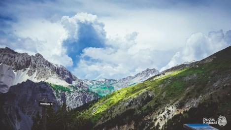 La casse déserte du col d'izoard haute-alpes