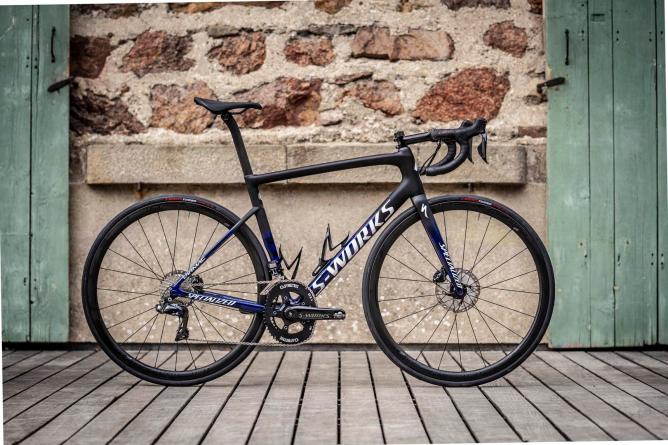The WolfPack et specialized sworks tamarc disc julian alaphilippe