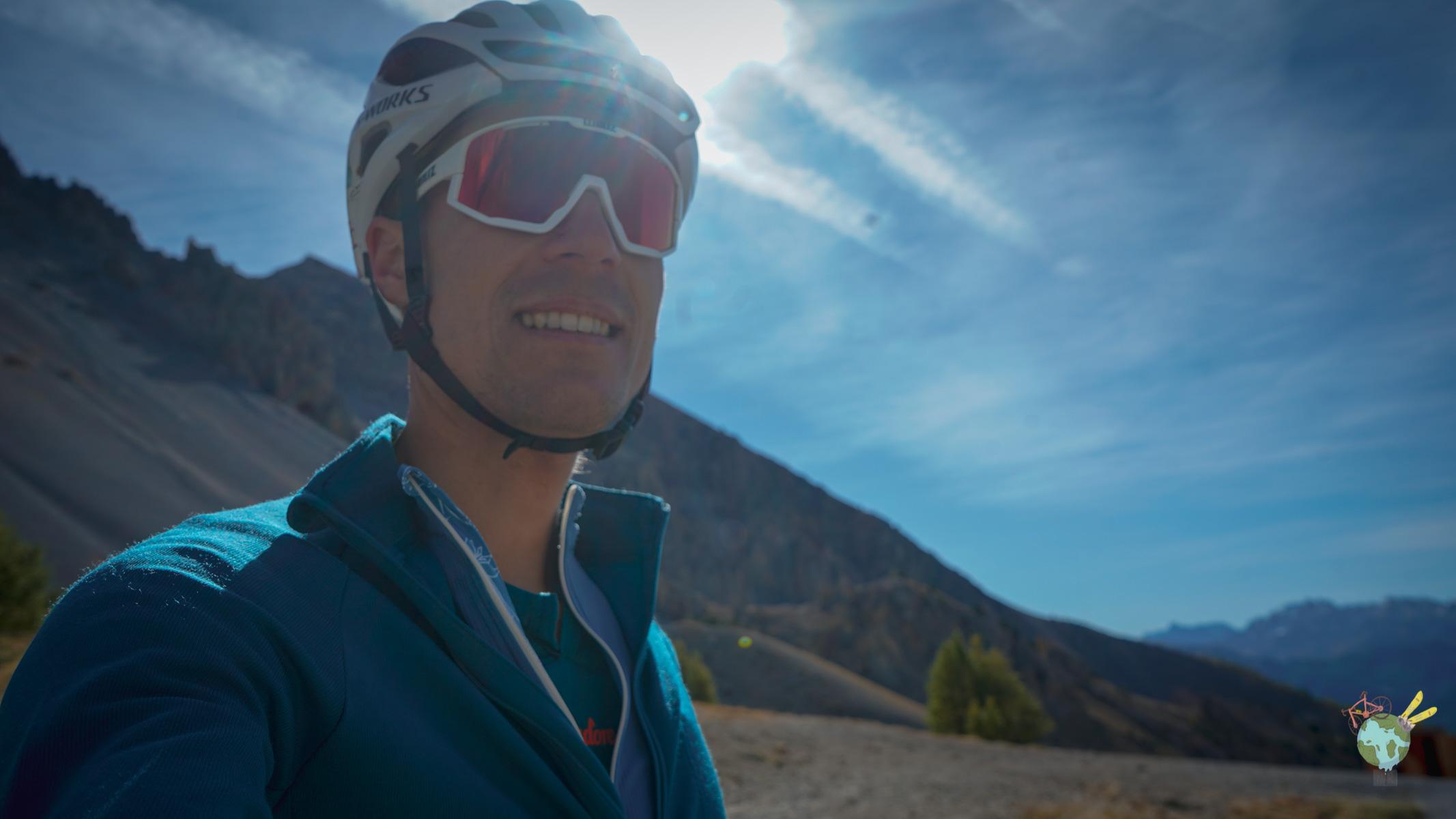 Nicolas Raybaud lunette Bliz Col d'Izoard