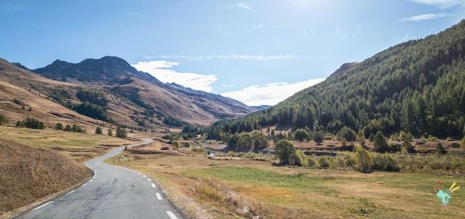 route du col d'agnel