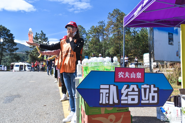 ravitaillement granfondo yunnan volontaire