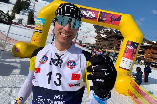 medaille millet ski touring courchevel