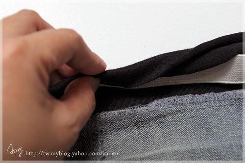 步驟5:再往內摺