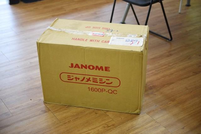 janome1600p-qc開箱