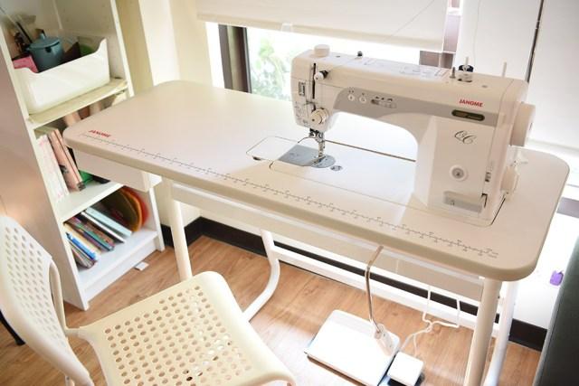 janome1600p-qc專用桌