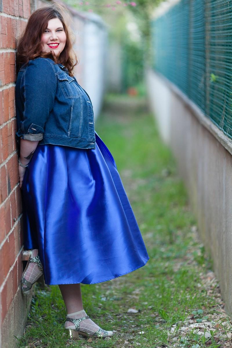 blue, magical, dearcurves, beth ditto, curvy, grande taille, ninaah bulles, look
