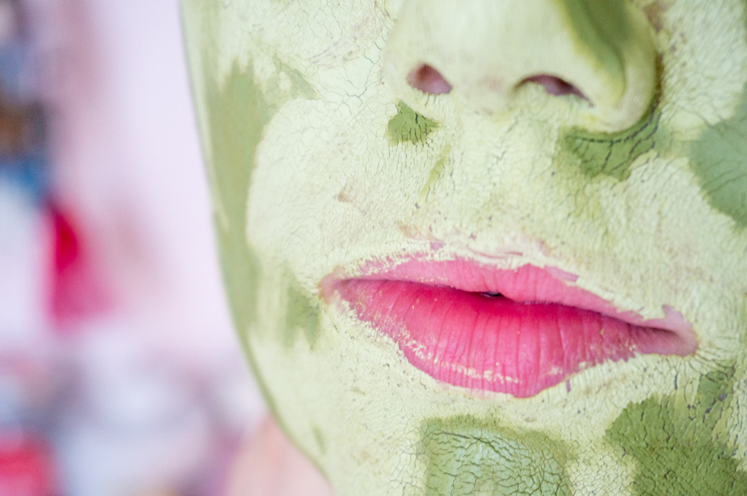 Ninaah Bulles, beauté, masque, matcha, naturel, cosmétique masion