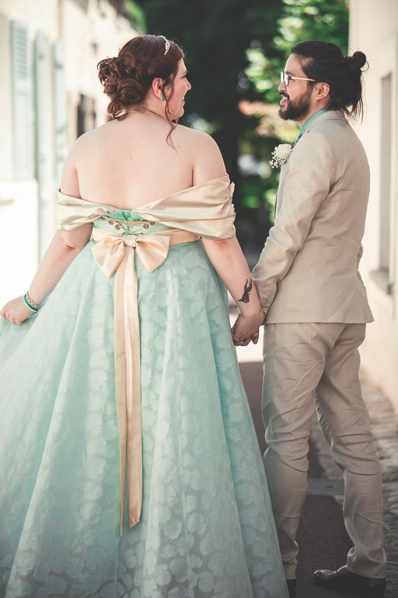 Mariage, ninaah bulles, moogri, princesse, chevalier, prince, asos, couple mixte