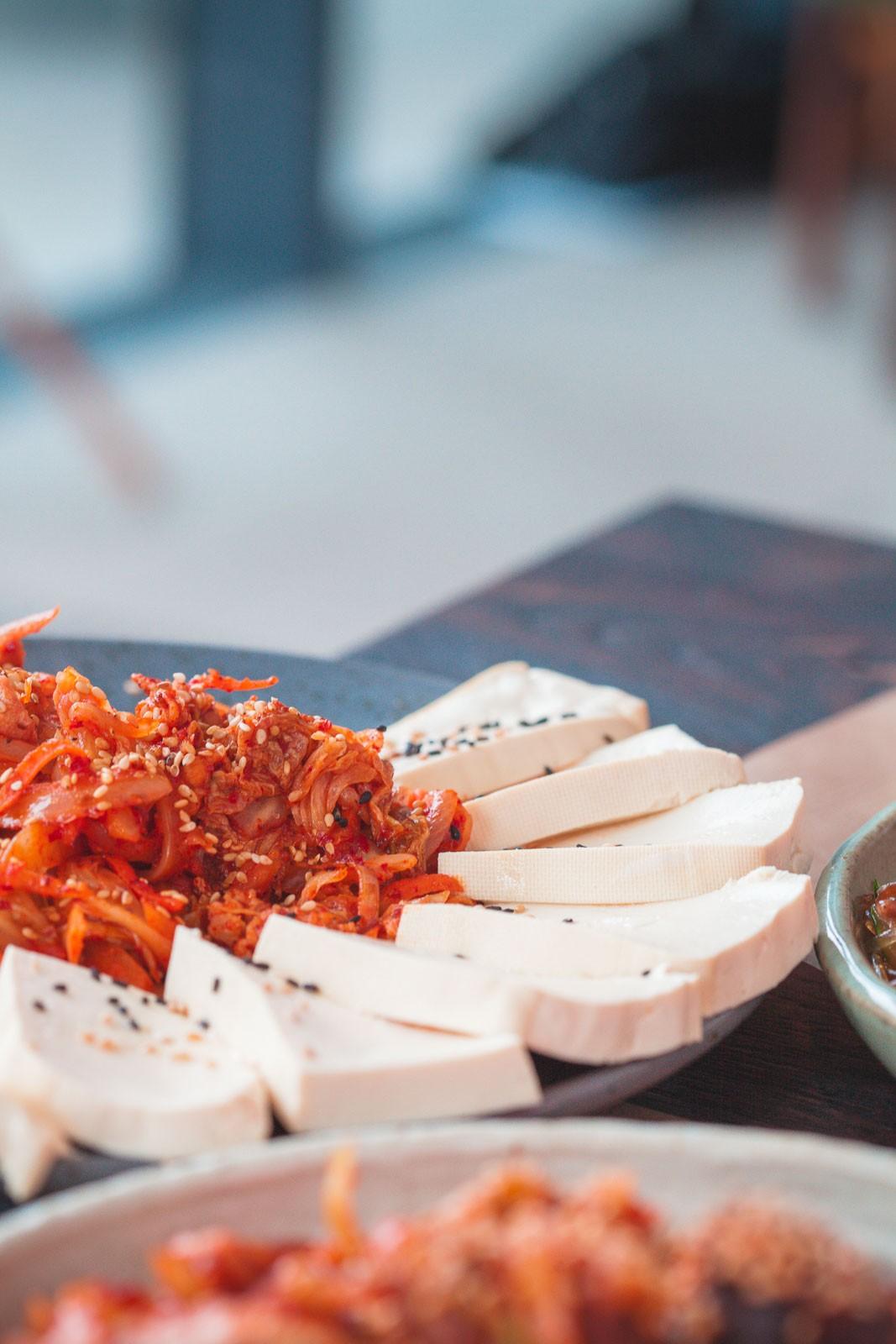 Comptoir coréen, Restaurant coréen, Paris, maison de Corée, cite universitaire paris, paris 14e, ninaah bulles, repa, Jajang Tteokbokki, dubu kimchi, Japchae Dubap, Soondae bokkeum, Makkoli, repas