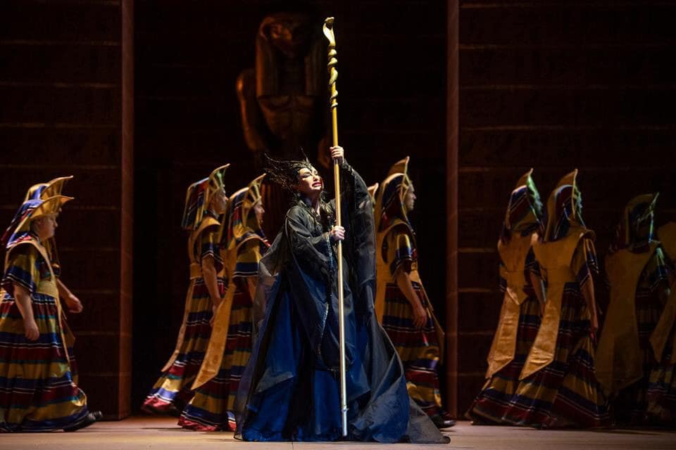 Nino Surguladze at Opera Royal de Wallonie - Amneris