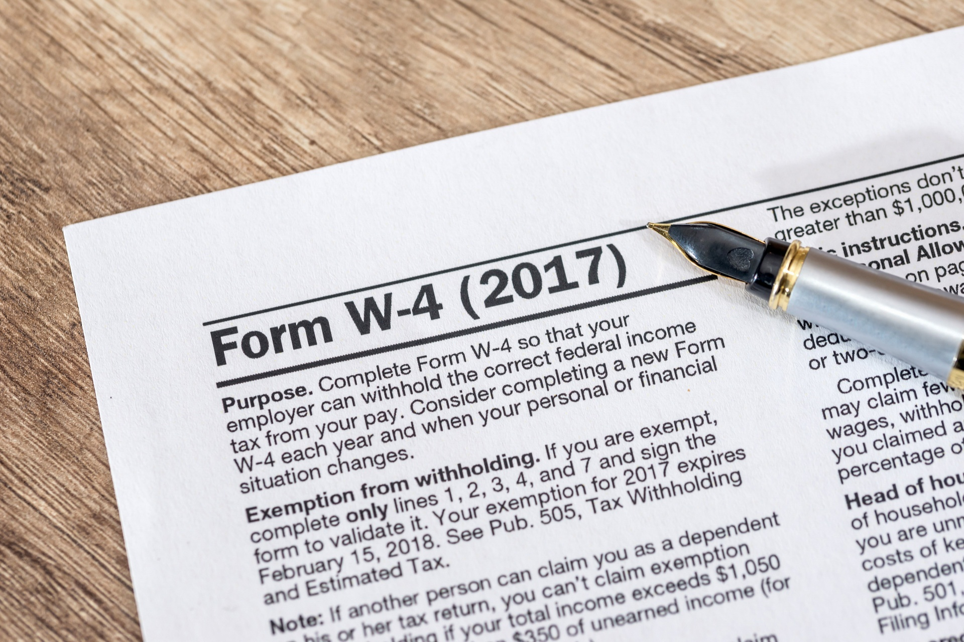 Irs Releases New Tax Withholding Tables For
