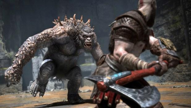 God of War combat image