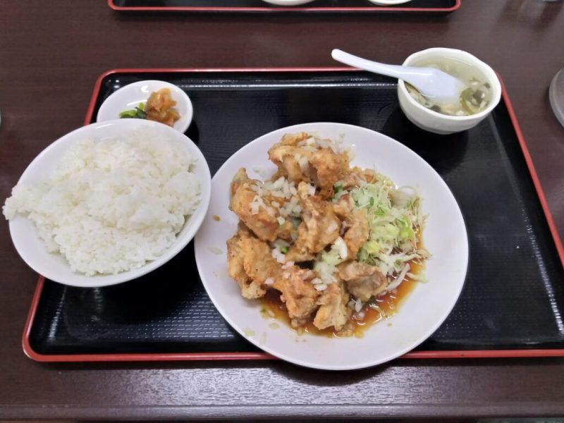 餃子太郎の油淋鶏