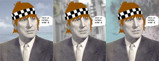 Perón flogger