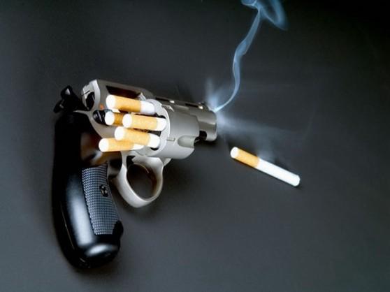 Pistola cigarrillo