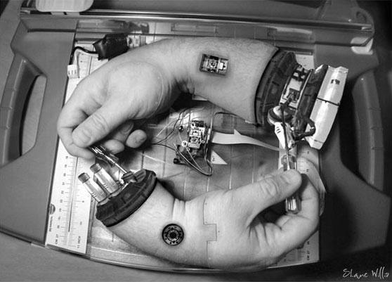 Escher robótico