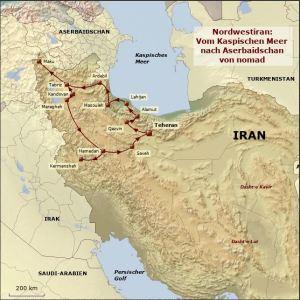 Nachhaltig reisen in iran: VOM KASPISCHEN MEER NACH ASERBAIDSCHAN IM NORDWESTEN IRANS