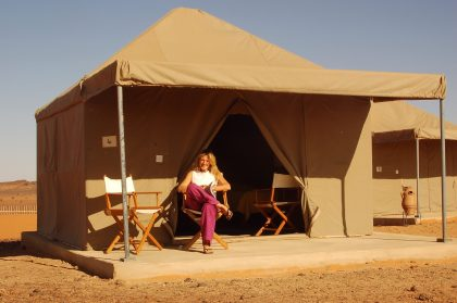 Meroe camp - tent 1