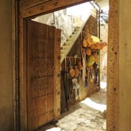 P. Roberts: Oman 2016 - Der Eingang zum alten Souk in Nizwa, 25.03.