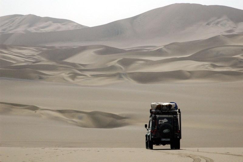 Ausrüstung Wüstenreise