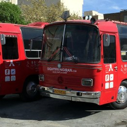 Sightseeing Bus in Teheran