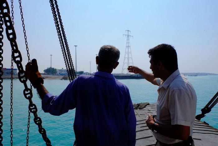 Iran: Mehrdad plant die Überfahrt zur Insel Qeshm