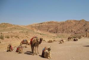 Jordanien: Reitkamele