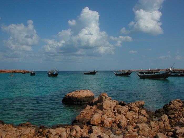 Oman Indischer Ozean Boote