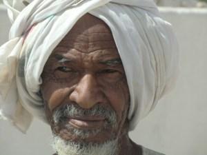 Sudan: Portrait eines Sudanesen