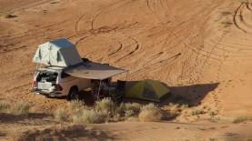 Oman: Campingplatz in der Wüste