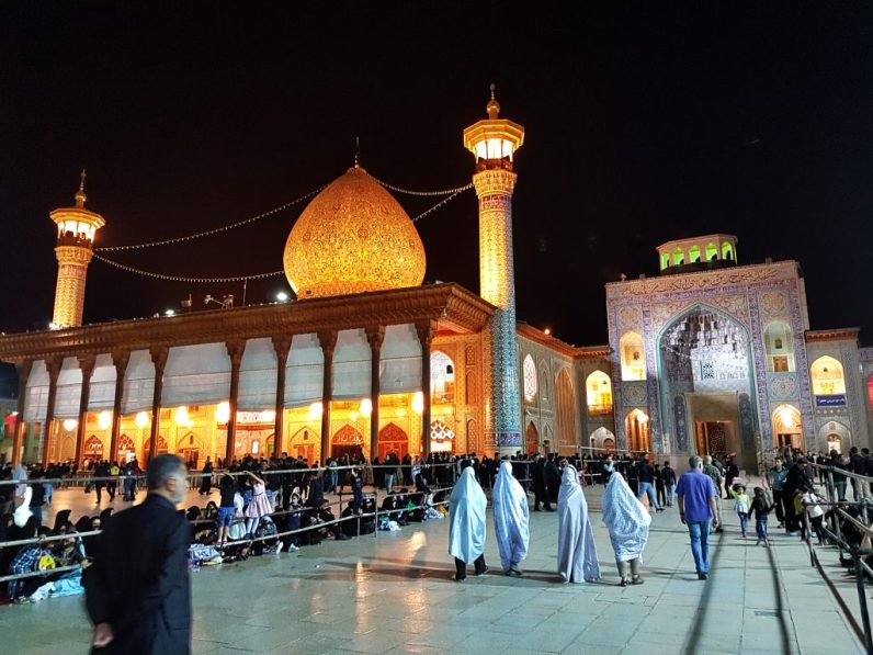 Iran: Shiraz: Shah Cheragh Mausoleum