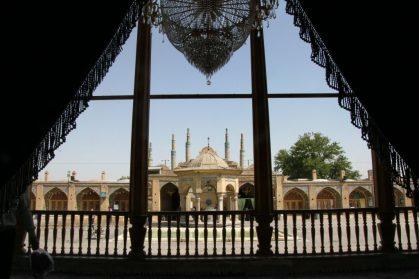 Iran: Qazvin: Imamzade-ye Hossein Mausoleum
