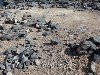 Oman: Müll auf dem Jabal Shams