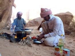 Kameltrekking Wadi Rum