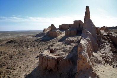 Kalas auf dem Weg nach Khiva
