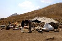 Im Zagros-Gebirge, Region Zard Kuh, Nomadenzelt