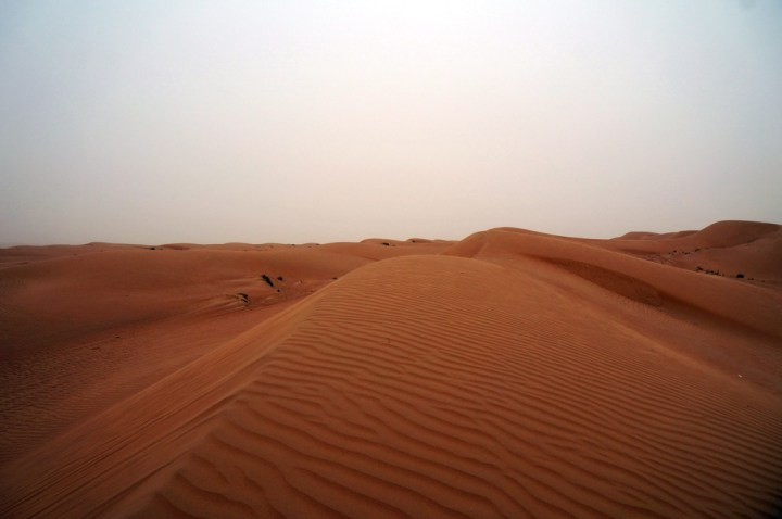 Dünen in der Ramlat al Wahiba